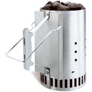 The Weber Rapid-fire Chimney Starter