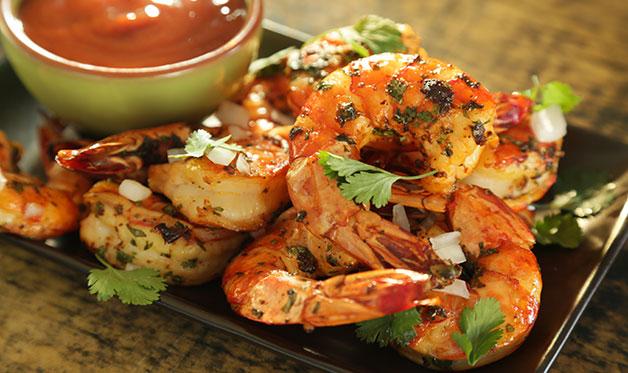 Smoked Shrimp recipe